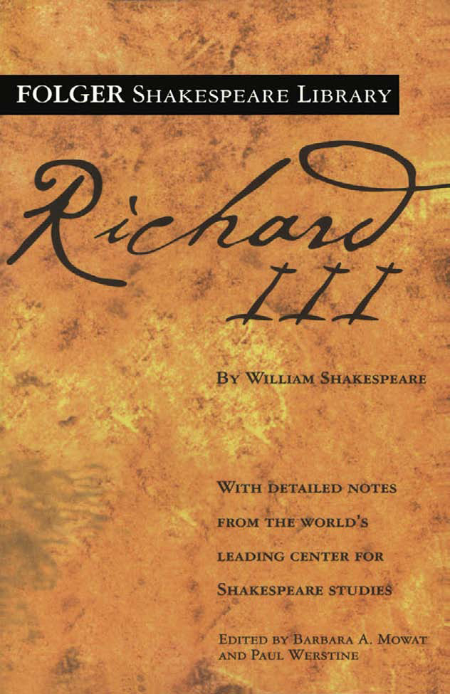 an overview of the act five in richard iii a play by william shakespeare The ghosts of prince edward, henry vi, clarence, rivers, grey, vaughan, hastings, the two young princes, lady anne, and buckingham respectively haunt the dreams of richard and richmond, cursing and condemning the former and blessing and praising the latter.