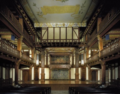 elizabethan playhouses and performance conventions Find out how much theatre has changed since elizabethan performing shakespeare in the 17th century hurled oranges and tried to join in with their performance.