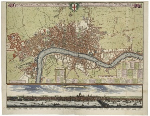 City London Map.Open City London 1500 1700 Folgerpedia